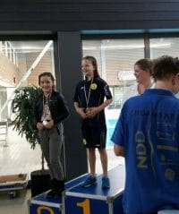 3 Medailles WWV Zwemselectie