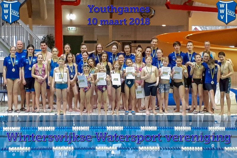 Succesvolle Youthgames In Zwembad Jaspers