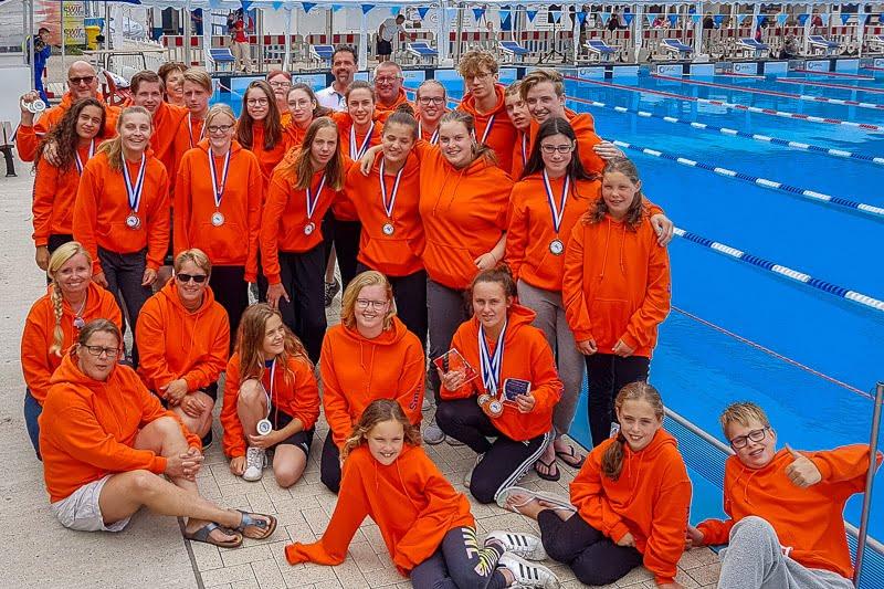 Top Weekend Met 43 Medailles Voor WWV Zwemmers !