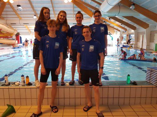 5 Zwemmers WWV Selectie GK Nijmegen
