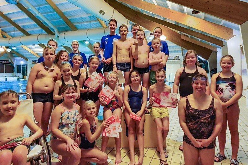 WWV Organiseerde Op Dinsdag 19 November Een Afzwemmoment ZwemSTERREN