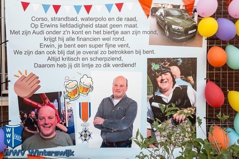 Erwin Te Selle Lid In De Orde Van Oranje-Nassau