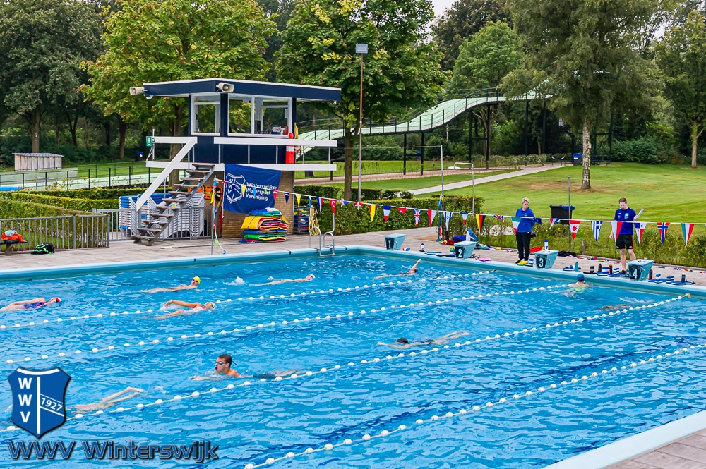 Zwemselectie Op Trainingskamp In Ruurlo