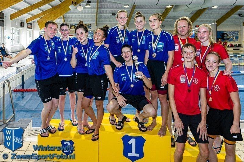Succesvolle Eerste Medaillewedstrijd In Zwembad Jaspers Op 25 September 2021
